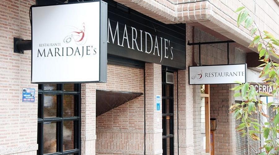Fachada del Restaruante Maridaje's